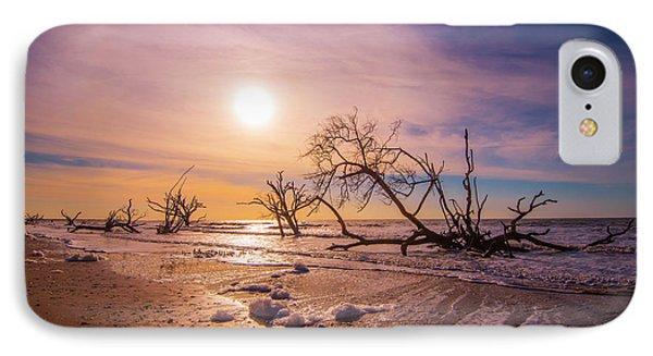 Morning On Boneyard Beach IPhone Case