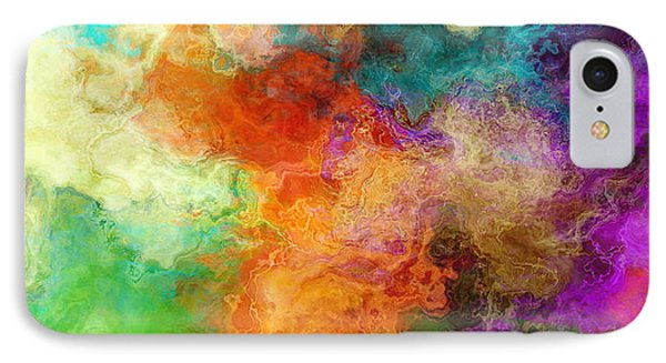 Mother Earth - Abstract Art IPhone Case