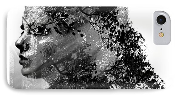 Mother Nature Black And White IPhone Case