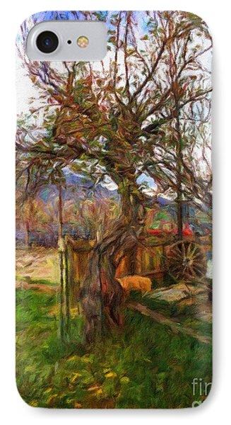 Spring Tree Dance IPhone Case