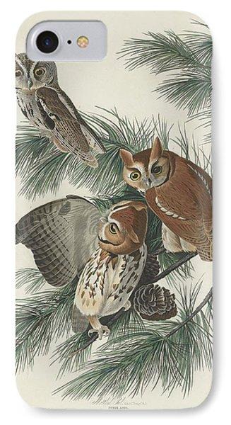 Mottled Owl IPhone Case