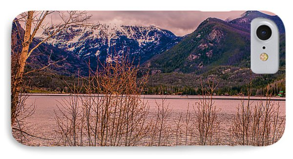 Mount Baldy From Point Park IPhone Case