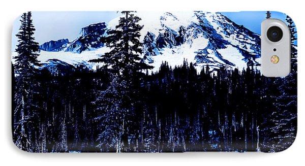 Mount Rainier Blue... IPhone Case