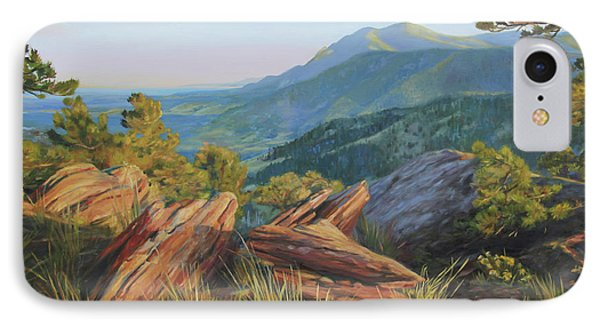 Mount Sanitas, Late Afternoon IPhone Case