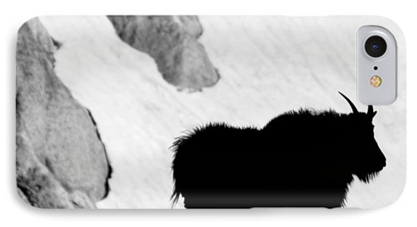 Mountain Goat Shadow IPhone Case