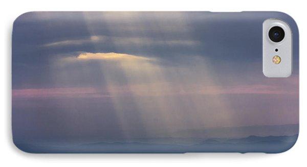 Mountain God Rays IPhone Case