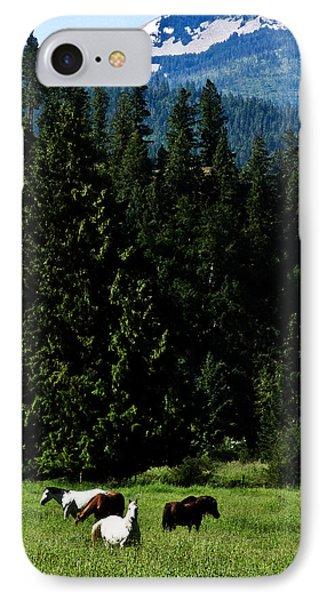 Mountain Herd IPhone Case