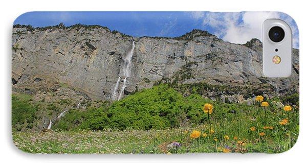 Mountain Landscape, Spring, Switzerland IPhone Case