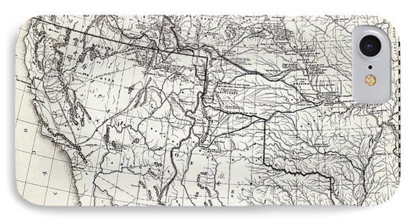 Trail Map iPhone 8 Cases | Fine Art America on