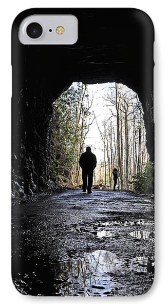 Mountain Tunnel IPhone Case