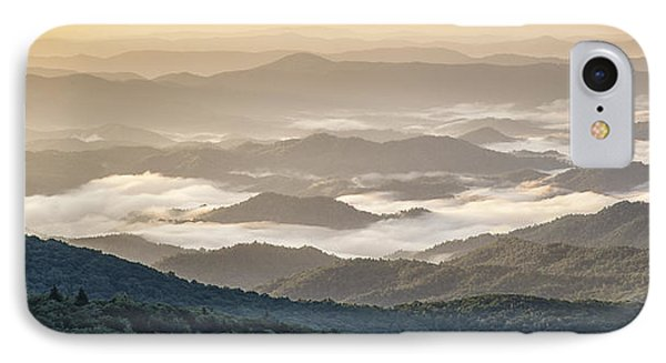 Mountain Valley Fog - Blue Ridge Parkway IPhone Case