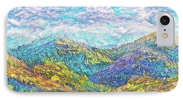 Mountain Waves - Boulder Colorado Vista IPhone Case