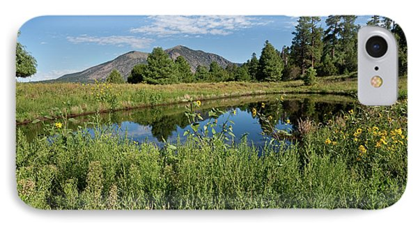 Mountains Reflected In A Pond IPhone Case