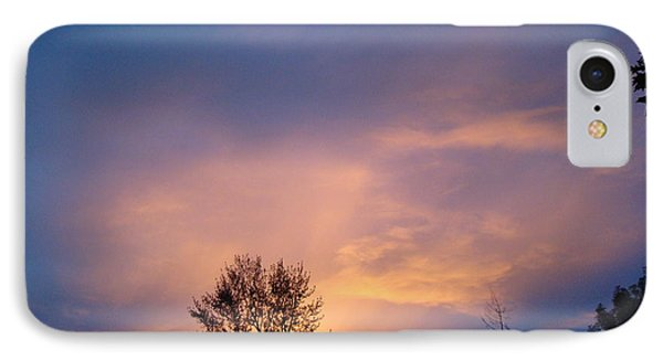 Moving Sunset IPhone Case
