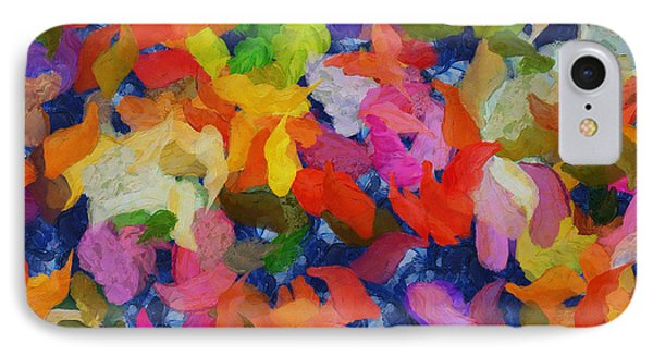 Mr Autumn Meets  Lady Spring - Painting - Wet Paint  IPhone Case