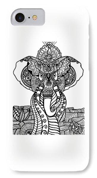 Mr. Elephante IPhone Case