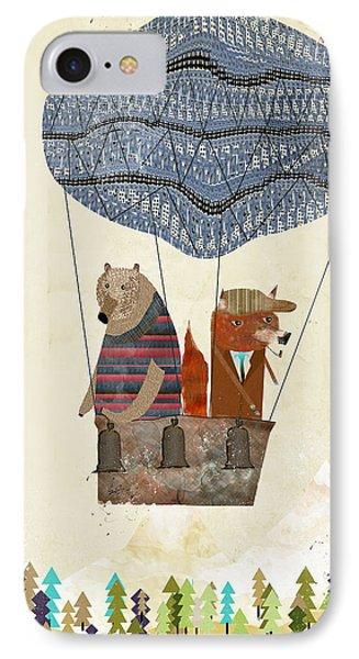 Mr Fox And Bears Adventure  IPhone Case