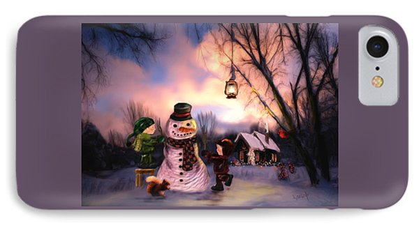 Mr. Frosty IPhone Case