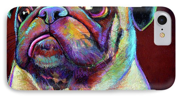 Mr. Pugnacious  IPhone Case