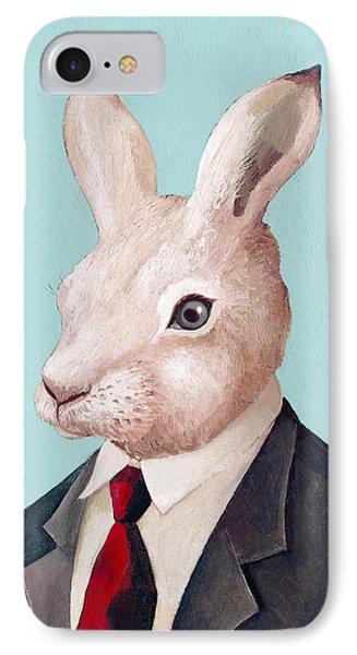 Mr Rabbit IPhone Case