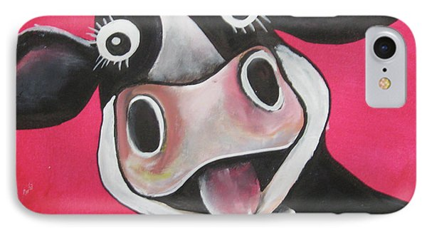 Mrs Cow IPhone Case