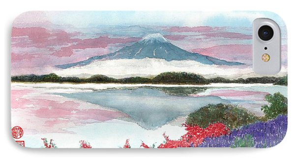 Mt. Fuji Morning IPhone Case
