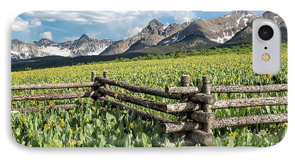 Mule's Ears And Mountains IPhone Case