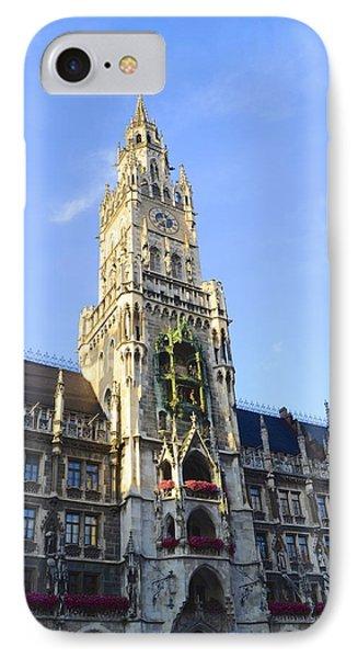 Munich Marienplatz IPhone Case
