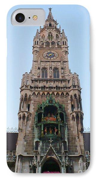 Munich Neues Rathaus Tower IPhone Case