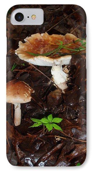 Mushrooms Rising IPhone Case