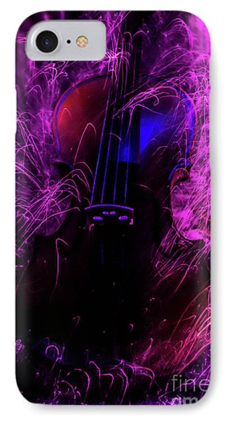 Music Light Painting  IPhone Case