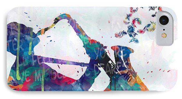 Saxophone iPhone 8 Case - Music  by Mark Ashkenazi