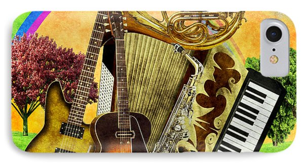 Musical Wonderland IPhone Case
