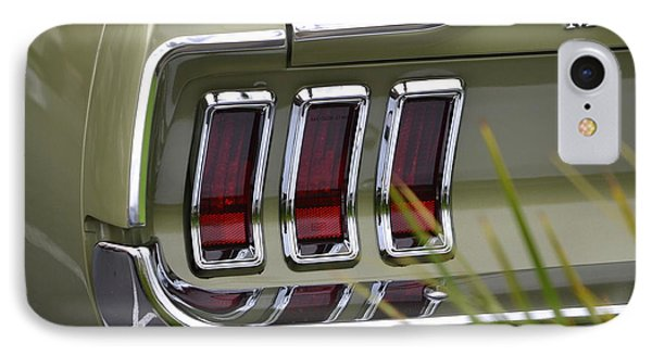 Mustang Fastback In Green IPhone Case