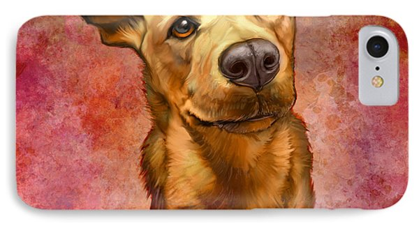 Portraits iPhone 8 Case - My Buddy by Sean ODaniels