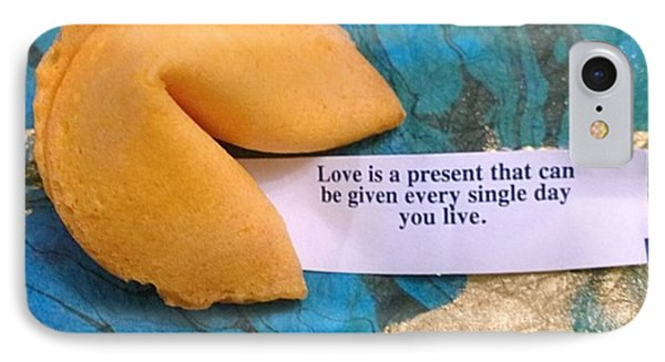 My #fortune For Today :-)#inspiration IPhone Case