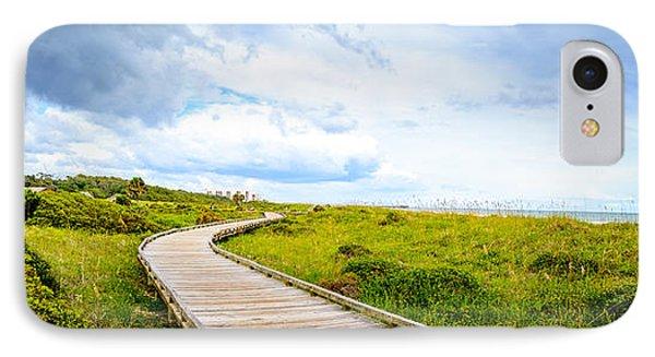 Myrtle Beach State Park Boardwalk IPhone Case