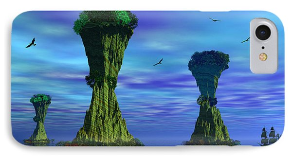 Mysterious Islands IPhone Case