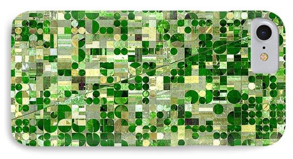 Nasa Image-finney County, Kansas-2 IPhone Case