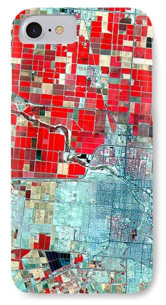 Nasa Image-us-mexico Border-2 IPhone Case