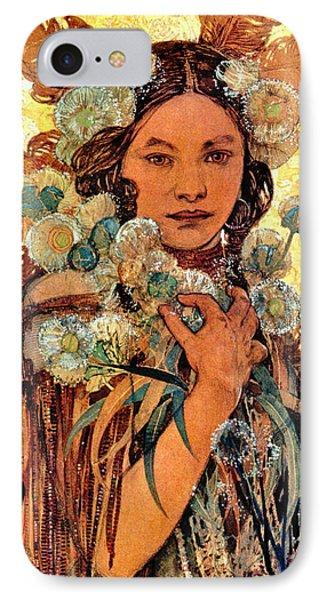 Native American Woman 1905 IPhone Case