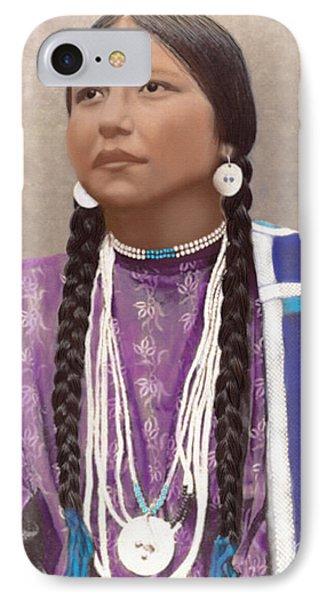 Native American Woman IPhone Case