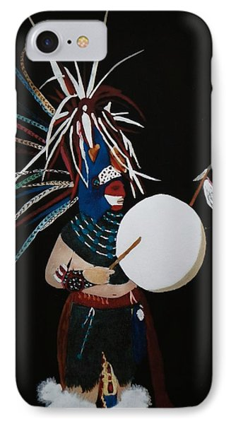 Native Dancer With Drum IPhone Case