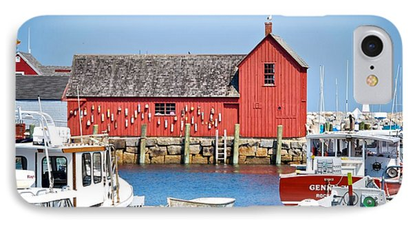 Nautical Rockport Days IPhone Case