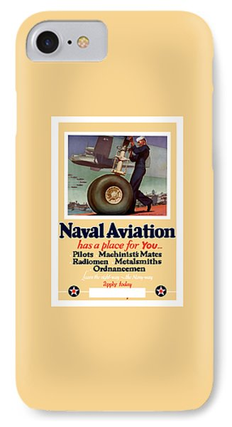 Naval Aviation Has A Place For You IPhone Case