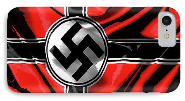 Nazi Flag Color Added 2016 IPhone Case