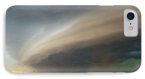 Nebraskasc iPhone 8 Case - Nebraska Thunderstorm Eye Candy 026 by NebraskaSC
