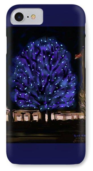 Needham's Blue Tree IPhone Case