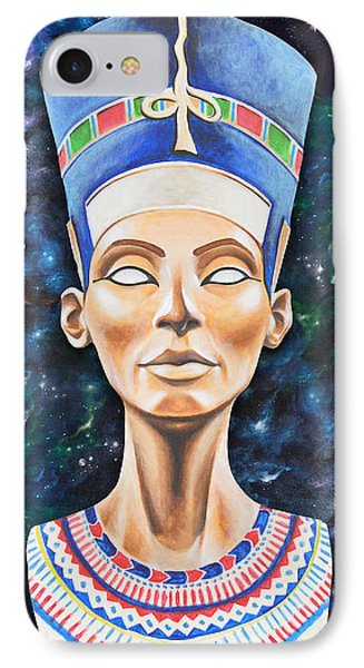 Egyptian iPhone 8 Case - Nefertiti by Canvas Cultures