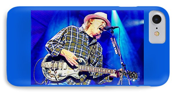 Neil Young In Concert IPhone Case